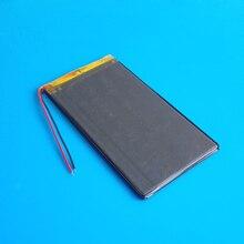 3 7V 4000mAh lithium polymer rechargeable battery li po for GPS DVD