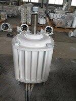 1KW/1000 Вт 400 об./мин. низких оборотах горизонтального ветра и гидро генератор/постоянный магнит сила воды dynamotor гидро