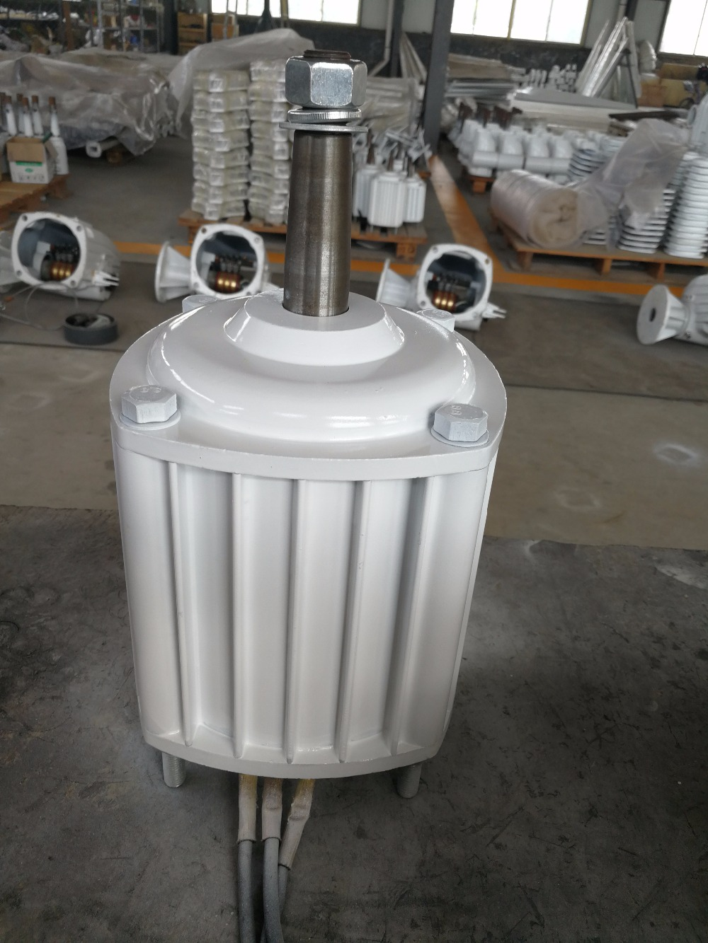 1KW/1000W 400RPM low rpm horizontal wind & hydro alternator/ permanent magnet water power dynamotor hydro turbine