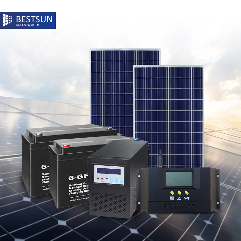BFS 1000W LB 1kW Plug In DIY Solar PV Kit System Ground