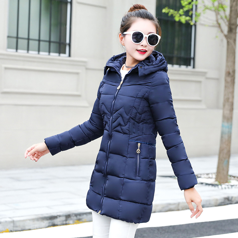 9f2deecdc65 Winter Jacket Women Plus size 2018 New Ukraine 6XL Womens Down Cotton  Thicker jackets Hooded Winter Coat Female Long Parkas