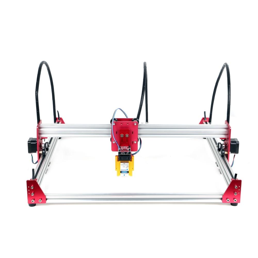 Mini Machine de gravure Laser 15W 45*45cm 500mw 2500mw 5500mw 15000mw bois routeur bricolage GRBL Laser Machine de gravure inoxydable