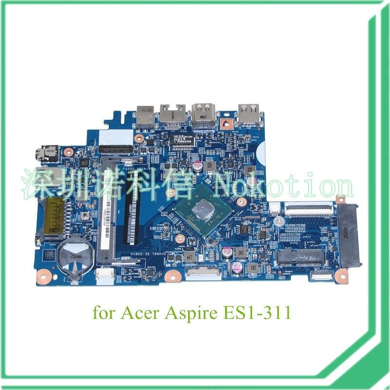 EA30 BM MB 14221-1M 448.03405.001M NBMRT11005 NB.MRT11.005 For acer aspire ES1-311 motherboard N2940 CPU