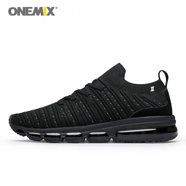ONEMIX спортивная обувь мужские кроссовки для бега уличные кроссовки носок-обувь легкие классные уличные кроссовки для прогулок большой размер 36-47