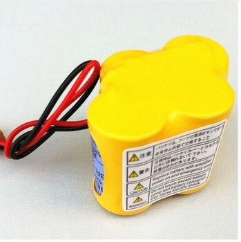 For 20pack  BR-2/3AGCT4A 6 v battery PLC BR-2/3AGCT4A Lithium-ion Batteries Black Belt Hook Plug HOT NEW