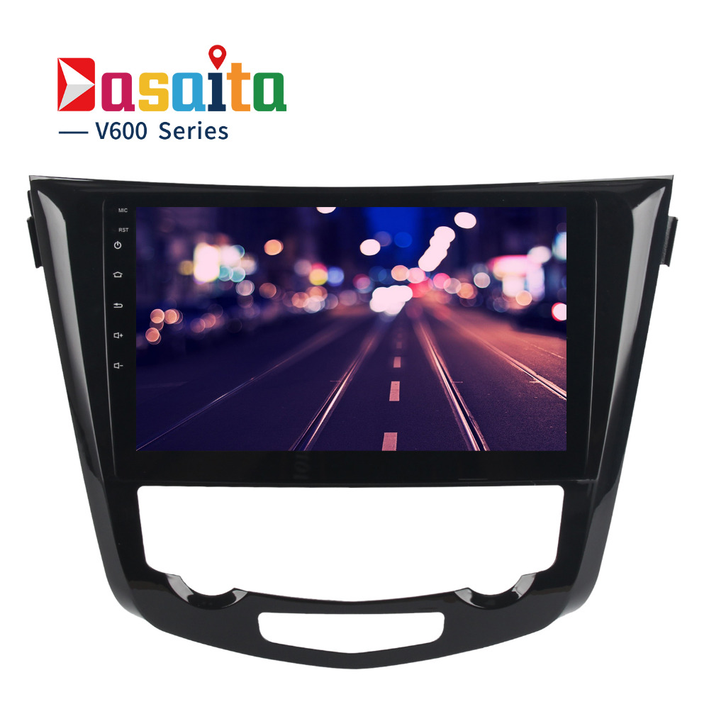 Dasaita 10 2 Android 6 0 Car GPS Player for Nissan X Trail 2014 2017 with