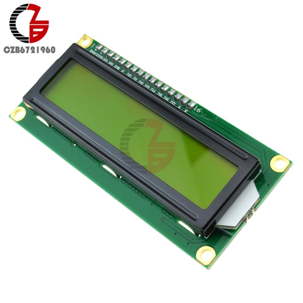 IIC I2C 1602 LCD Display Module LCD-1602 I2C Blue Yellow Display 5V for Arduino