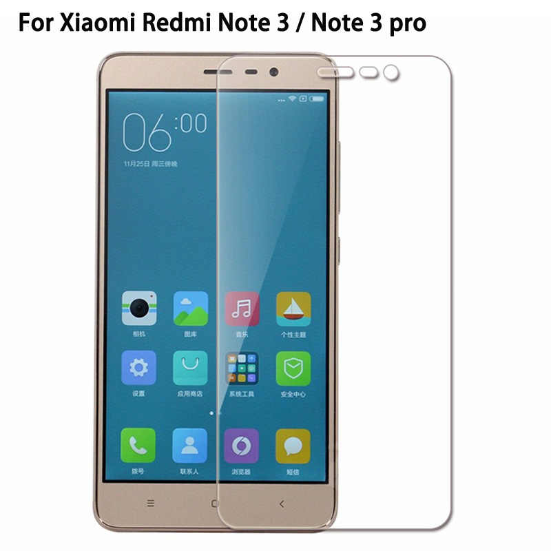 9H Tempered Glass for Xiaomi Redmi Note 3 Pro S2 6A 6 Pro Mi8 SE Screen Protector Toughened Protective Film for Redmi note 3 5A