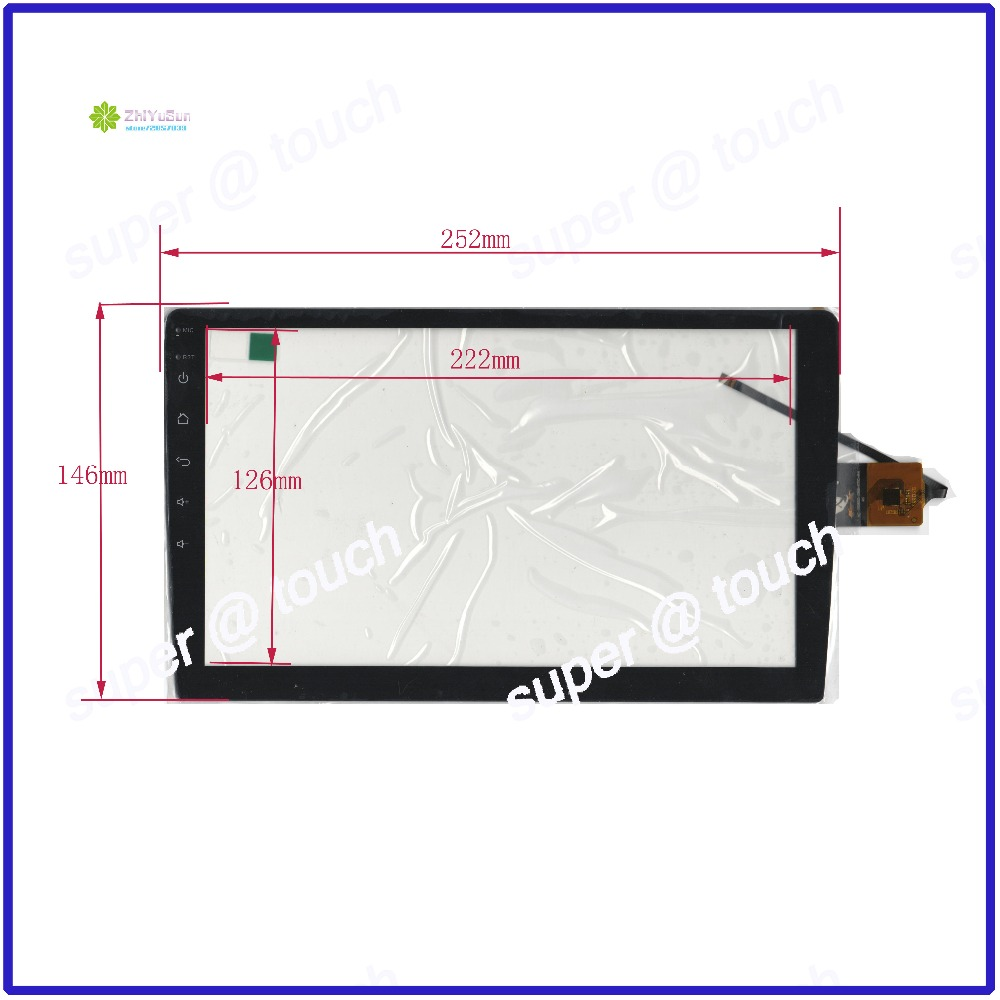 XC PG900 058 FPC A4 Touch Screen 252*146 touch screen FREE SHIPPING 252mm*146mm NEW 10.4inch 6 wire capacitive