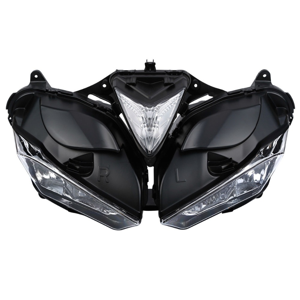 ABS Front Head Light Assembly Headlamp Lighting For Yamaha YZF R3 R25 2013 2016 2015