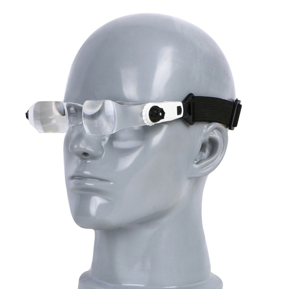 Aneng Headband 3.8X/4.0X Bracket TV Glasses Magnifier Loupe Goggles Magnifying Glass with Phone Holder Glasses Case folding tv screen magnifier 3dpt maxtv binocular glasses magnifying glasses for far sighted presbyopia people