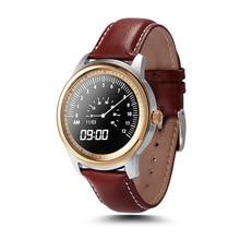 Neue lem1 dm360 upgrade dual-core-chip-dm365 smart uhren bluetooth 4,0 mtk2502 ip67 runde smartwatch ios android für iphone samsung wasserdichte