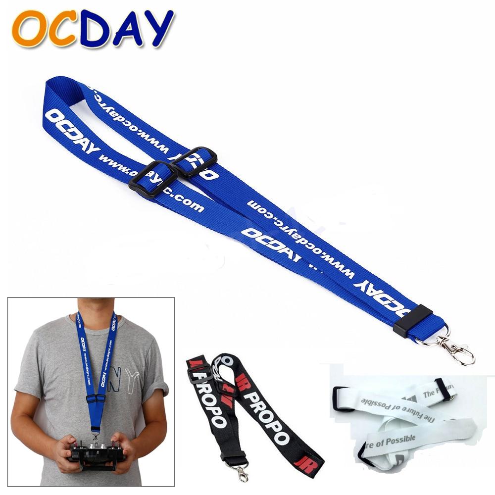 1pcs OCDAY Universal Adjustable Neck Strap Belt Sling Lanyard For RC Remote Controller 4 color for