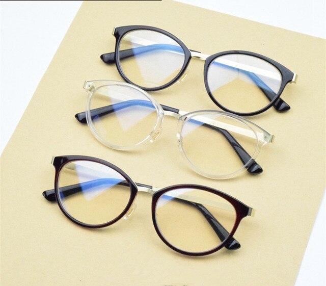 27a579322b Metal de la vendimia Marco de Los Vidrios Ópticos Mujeres gafas de Lentes  Claros Gafas Gafas