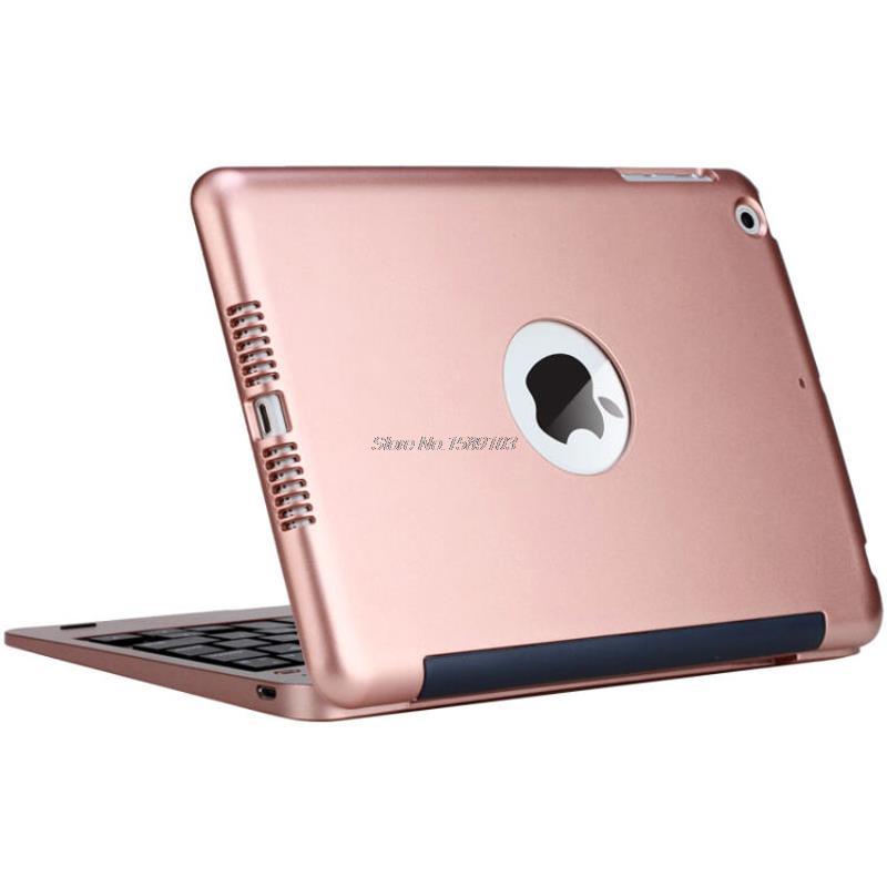 Prix pour Sans fil Bluetooth Clavier Pour iPad Mini 1 2 3 Plein corps De Protection Portable Clavier Case Avec Stand Smart Cover Mini2 Mini3