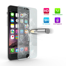 Ultra Thin 9H Tempered Glass Screen Protector Cases for iPhone 4 4S 5 5S SE 5C 6 6S Plus 7 Plus case Premium capa fundas Cover