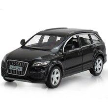 Simulasi Q7 1:36 Diecasts Kendaraan Mainan Paduan Menarik Kembali Mobil Mini Replika Resmi dengan Model Asli Pabrik SUV Mainan hadiah