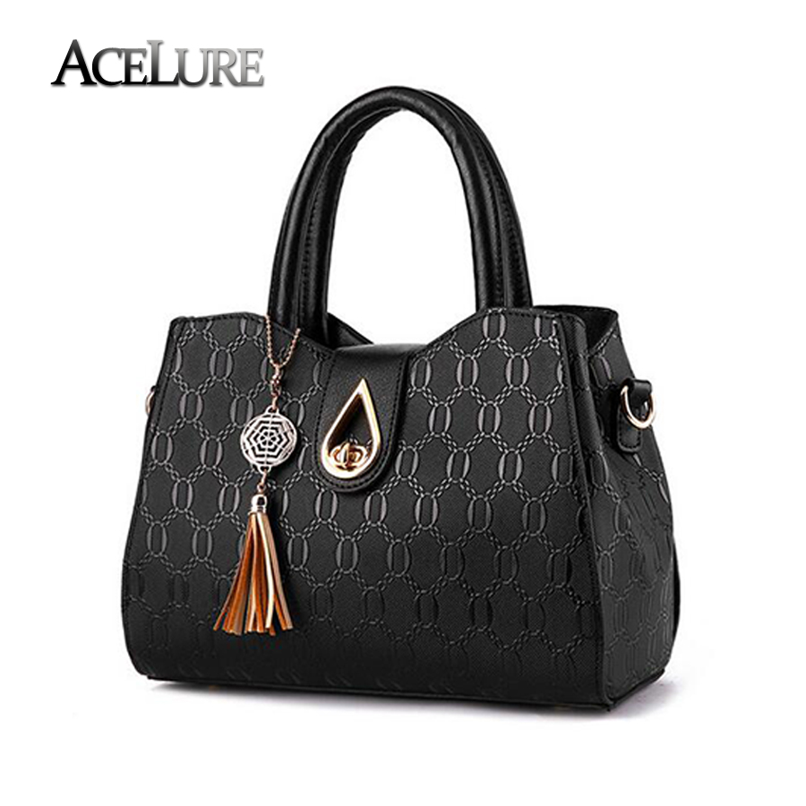 Women Top-Handle Bags Pu Leather Totes Female Casual Messenger Bags Bolsa Femini
