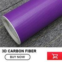 3D Carbon Fiber Vinyl Film Naklejka Samochodów Wodoodporna DIY 1.52*30 m (5x98FT) z kanału powietrznego bubble bezpłatne łatwy w instalacji