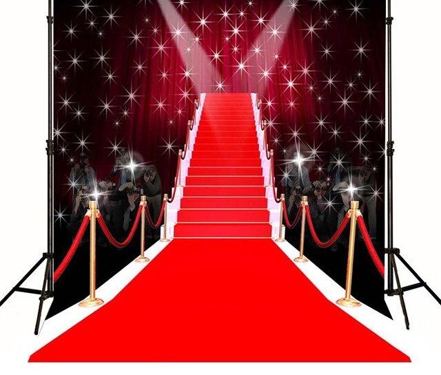 Fond De Tapis Rouge Hollywood Toile De Vinyle De Haute