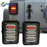 2PCS LED Tail Lights Brake Lights Reversing Lights Turn Singnal Car Rear Taillights Tail Lamps For