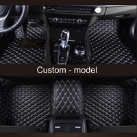 Custom fit car floor mat specially for Chevrolet Tahoe Suburban Traverse Malibu 3d all weather high quality luxury rugs liners