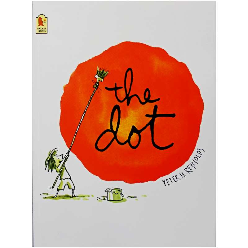 The Dot By Peter H. Reynolds Educational English Picture Book Learning Card Story Book For Baby Kids Children Gifts