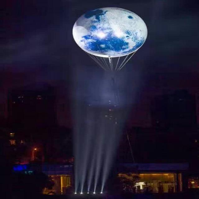 led luminous balloon luminous moon balloon empty ball globe