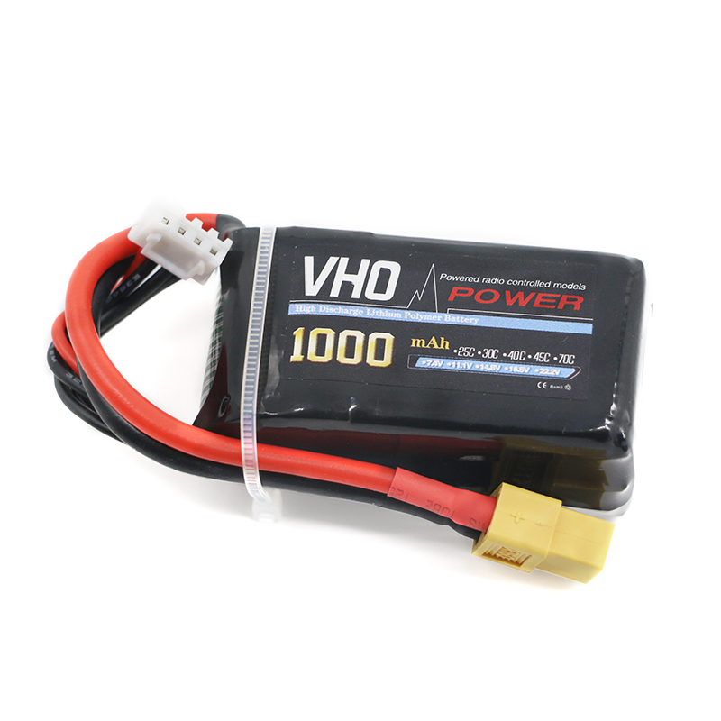 VHO 3s 11.1V 1000mah lipo battery 30C For Quadcopters Helicopters RC Cars Boats High Rate batteria lipo car parts головной убор labiymb 1436