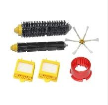 Hair Brush kit +2 Filter +side brush+clean tool Kit for iRobot Roomba 700 Series 760 770 780 790 aspirador Accessories