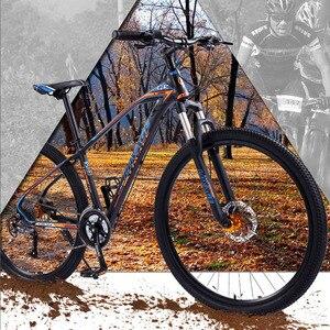 Image 5 - זאב של פאנג אופניים אופני הרים 27 מהירות 29 אינץ כביש אופניים mtb bmx אלומיניום סגסוגת שומן מול אחורי מכאני דיסק בלם