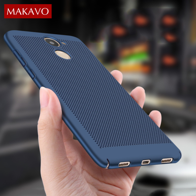 online retailer a5246 d8654 US $3.24 35% OFF|MAKAVO For Huawei Y7 Prime Case 360 Matte Skin Fundas Hard  Plastic Housing Slim Hollow Back Cover For Huawei Y7 Phone Cases-in Fitted  ...