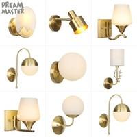 Industrial Copper Wall Sconce Lights Wandlamp Retro Wall Lamp E27 Indoor Bedroom Bathroom wall lights art decor copper lighting