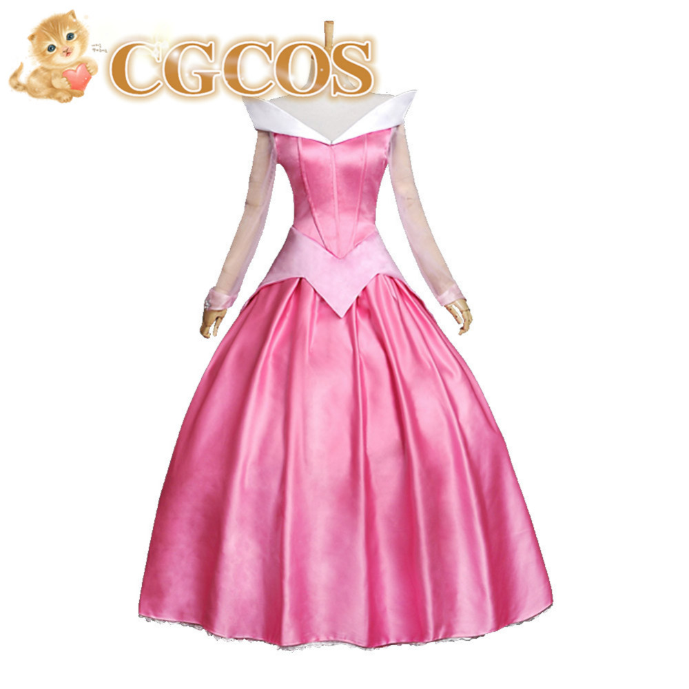 Express! Anime Cosplay Costume Sleeping Beauty Princess Aurora Lolita Custom-made Halloween Christmas Party Uniform