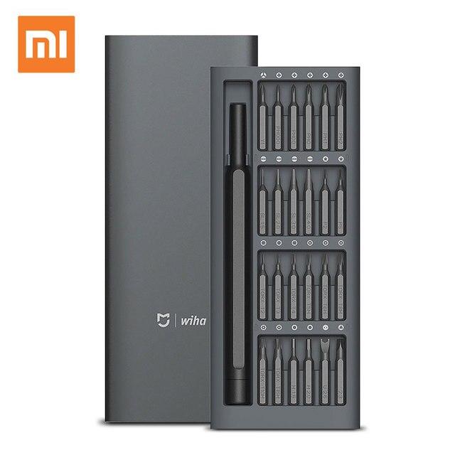 Набор отверток Xiaomi Mi Mijia Wiha 24 в 1, точный отверток, 60HRC, магнитные биты, домашний набор Xiaomi, ремонтные инструменты, оригинал
