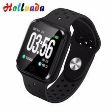 Смарт-часы Hollvada S226B, измеритель артериального давления, монитор сердечного ритма, IP67, водонепроницаемые спортивные фитнес-часы, часы для мужчин и женщин, умные часы