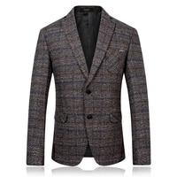 2017 Autumn Single Breasted Men S Fashion Casual Stripe Blazers Men Coats Jacket Classics Business