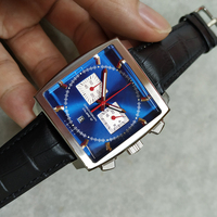 New classic men luxury quartz movement Calibre 36 RS Caliper fashion watches Chronograph Men's watch A++ quality wristwatches