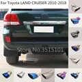 Tampa do carro tubo de escape ponta silenciador tubo de saída de dedicar Para Toyota LAND CRUISER 2010 2011 2012 2013 2014 2015 2016 2017 2018