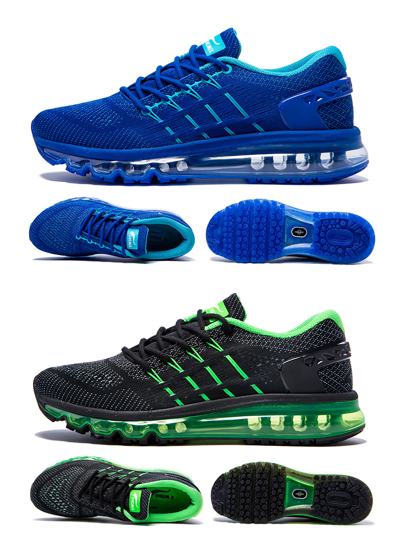 17 Air Cushion Running Shoes Breathable Massage Sneakers Man Jogging Sport Sneakers for Outdoor Walking Shoe Run Comfortable 14