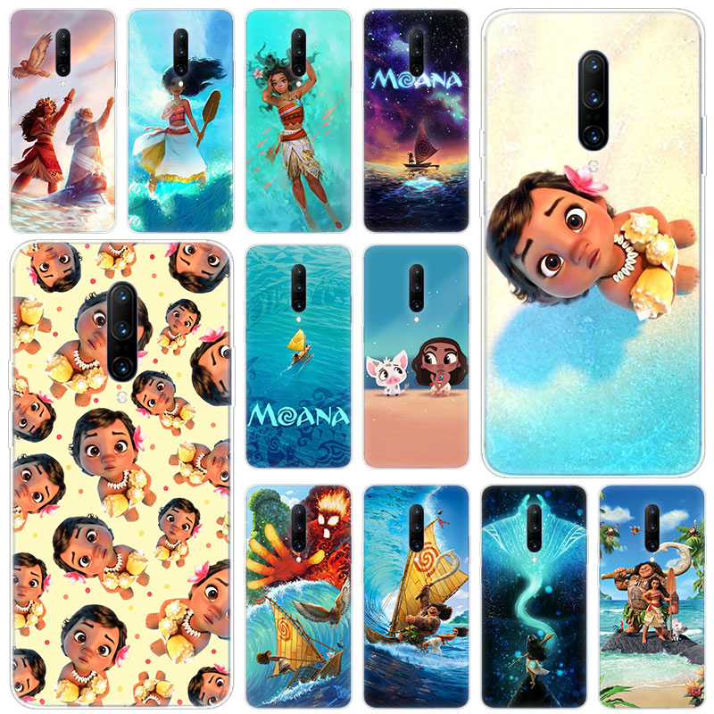 Hot Cartoon Cute Moana Soft Silicone Fashion Transparent Case For font b OnePlus b font font