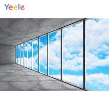 Фоны для фотосъемки yeele с изображением голубого неба белых