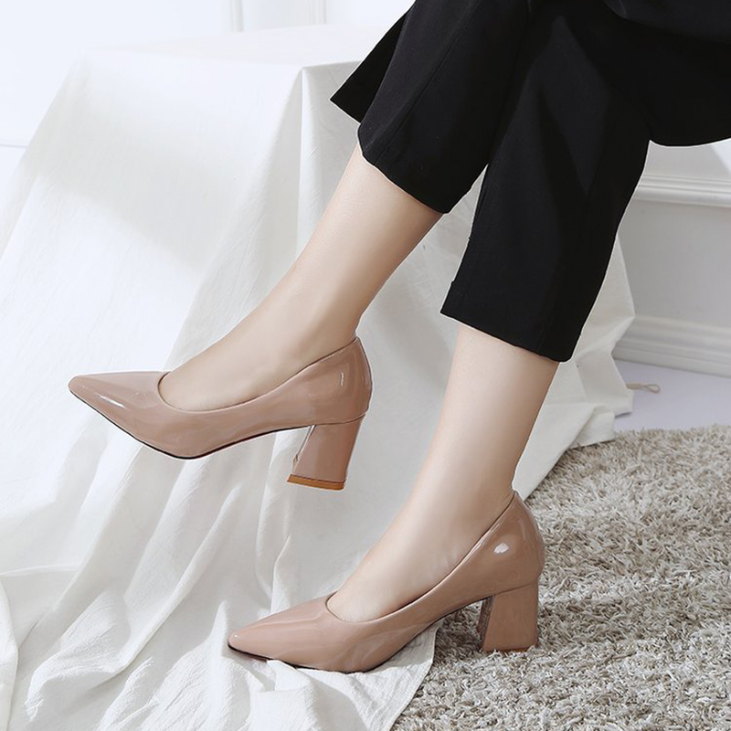 Pointed fashion high heels versatile high heel women's shoes temperament shallow mouth comfortable high heels sexy high heels
