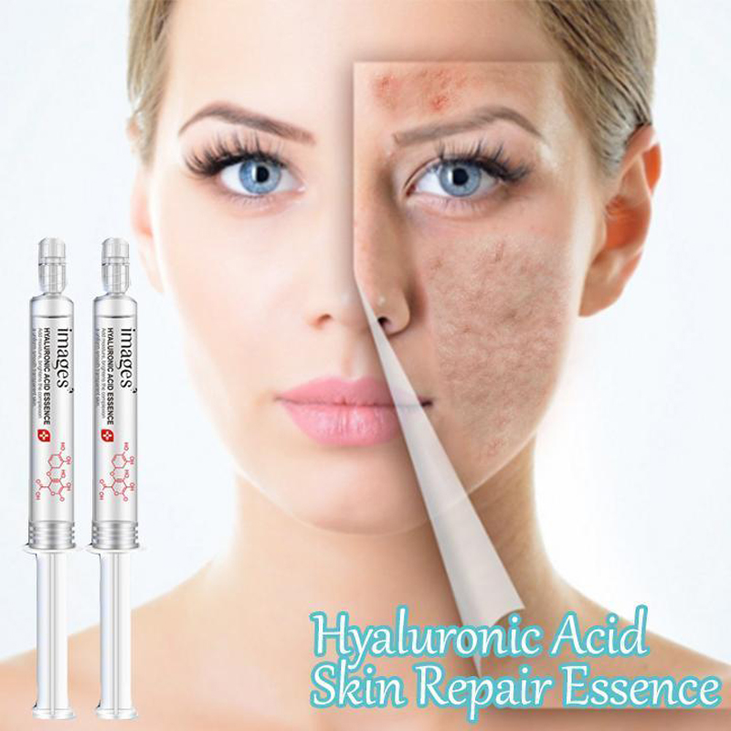2pcs/lot Hyaluronic Acid Skin Repair Essence Hydration Moisturizing Face Improve Skin Face Concealer Drop Shipping
