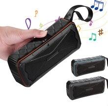 S610 Portable Bluetooth Speaker Wireless Loudspeaker Sound System 20W Subwoofer stereo Music surround Waterproof Outdoor Speaker цена в Москве и Питере