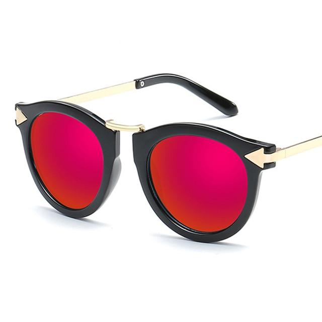 a5a3850385f0 2019 New Oversized Round Sunglasses Women Brand Designer Sunglases Woman Sun  Glasses Fashion Summer Gafas Feminino Oculos De Sol