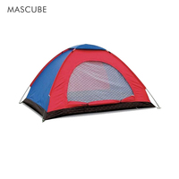 Outdoor Camping Double Shade Seasons Tent Waterproof Windproof Anti UV Structural Stability Ventilation Performance Beach Tents