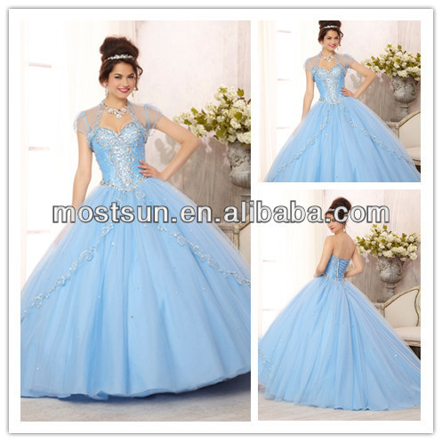 discount q092 crystal sweetheart neckline corset back blue