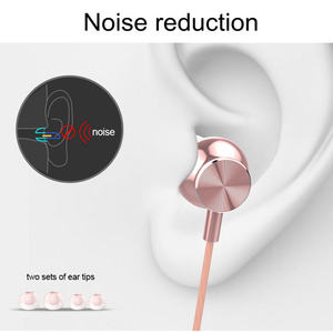 Image 3 - Langsdom M430 In ear Metal Earphones Super Bass Stereo Headsets Earphone with Microphone 3.5mm Earbuds for Mobile Phone MP3