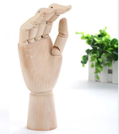 BOHS Mannequin Sketch Drawing Practice Manikin Hand Wooden Dummy Model Men Joint 8 inch 20cm, 1pc 12 inch 30cm wooden model comic